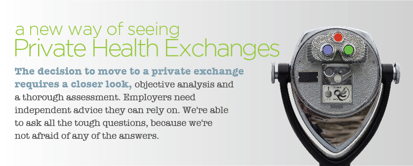 private exchanges consulting